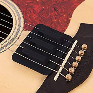 Sala-Fnt - Ballads Acoustic Classical Guitar Mute Silica Gel Practice Guitar Silencer Musical Instruments