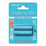 Panasonic Eneloop SY3052739 - Pack de 2 Pilas Recargables, AA