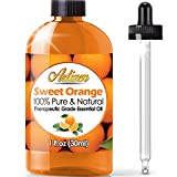 Artizen Sweet Orange Essential Oil (100% PURE& NATURAL - UNDILUTED)...