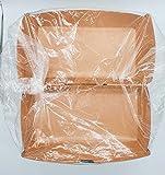 50 Vaschette 1000 ml asporto box cerniera carta kraft 20,7x10,7xh8 cm cm biodegradabili compostabili umido o carta patatine fritti tempura ciotola take away rettangolare