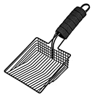 BasicForm Cat Litter Scoop – Stainless Steel Kitty Litter Scooper with Deep Shovel, Fast Sifter - Co...