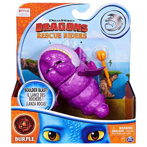 """Burple DreamWorks Dragons Rescue Riders 6"""" Figure"""