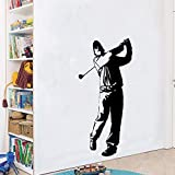 Tianpengyuanshuai Creativo Golf Impermeable Etiqueta de la Pared decoración del hogar Sala de Estar decoración de la habitación de los niños 43x19cm