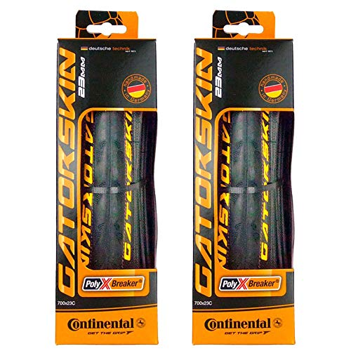 Continental GatorSkin DuraSkin Tire, 2-Count (Folding, 700 x 23mm)