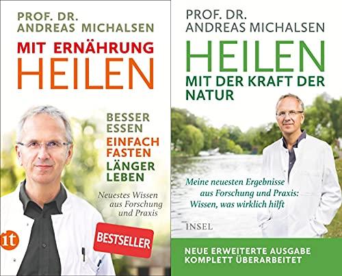 Mit Ernährung heilen + Heilen mit der Kraft der Natur + 1 exklusives Postkartenset