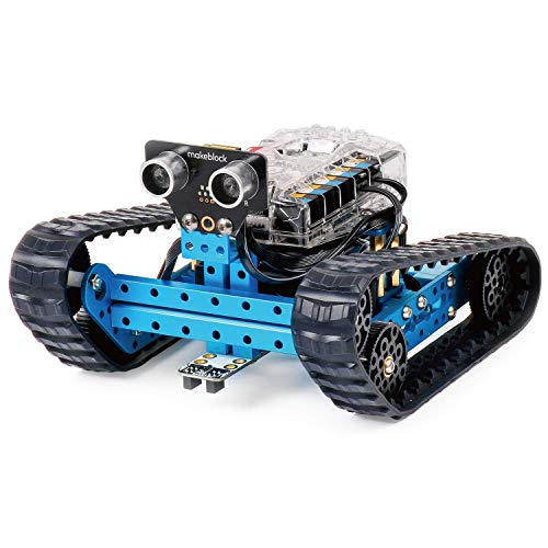 Makeblock mBot Ranger 3-in-1 Robot Kit, Metal Materials with Powerful Mega2560, Scratch and Arduino C Programming, APP Control, Advanced Robot Kits, Build Robot for Kids 10+