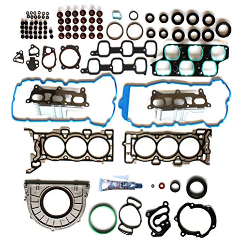 ECCPP Engine Replacement Head & Lower Conversion/Full Gasket Set Compatible with 2008 for Buick Enclave 4-Door 3.6L CX Sport Utility