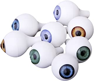 Occhi di Diverse Dimensioni Wohlstand 700 Pezzi Occhi Autoadesivi Occhi in Plastic Wiggle Googly Occhi Accessori Giocattolo 4mm ~ 15mm Artigianale Bambola Giocattolo