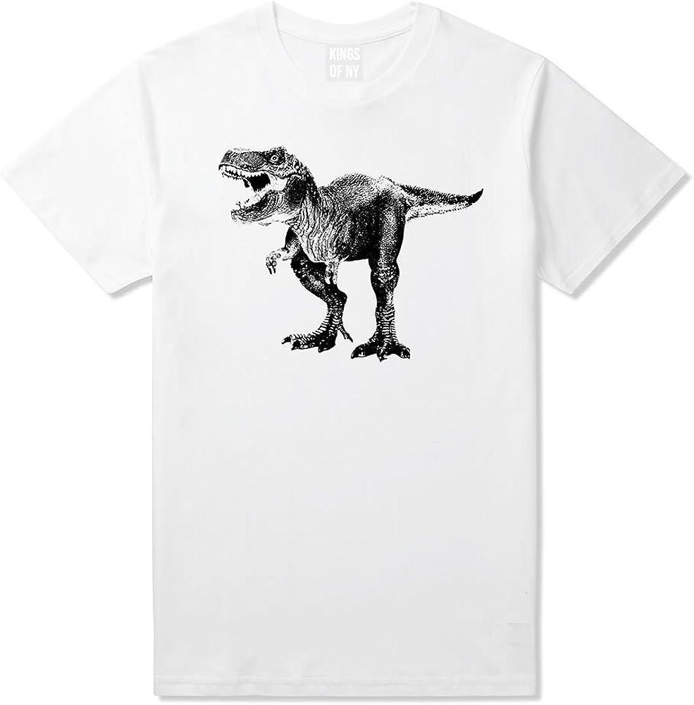Kings Of NY Max 85% OFF sale T-Rex Mens Dinosaur T-Shirt
