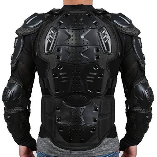 Chaqueta Llena de la Motocicleta Armadura Protección Hombro Motocross Racing Pit Bike Pecho Equipo de Protección XXL