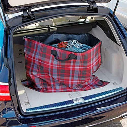 Purework Kofferraumtasche XXL Einkaufstasche Kofferraumdecke Kofferraumschutz Hundedecke Plane Transportbeutel Picknickdecke Kofferraummatte