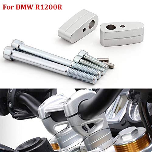 Topteng Riser stuur, higher extend adapter voor B-M-W R1200R R1200R R 2014-2018