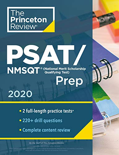 Princeton Review PSAT/NMSQT Prep, 2020: Practice Tests + Review & Techniques + Online Tools (College Test Preparation)