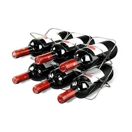 wine rack in cabinet - 6