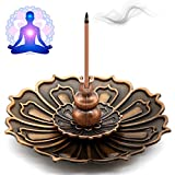 Best Incense Sticks - OMyTea Brass Incense Stick Burner Holder with Ash Review