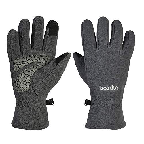 Tofern handschoenen Unisex Touchscreen handschoenen thermische winddicht voor fietsen klimmen hardlopen