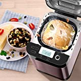 Automatic Fruit Sprinkled Bread Maker Multifunction Bakery Machine Kitchen Household Appliance Kneading Dough