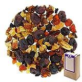 Núm. 1371: Té de frutas 'Arándano y granada' - hojas sueltas - 500 g - GAIWAN® GERMANY - arándanos azucadaros y la papaya, manzana, rosa mosqueta, remolacha