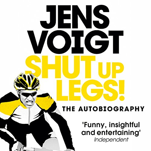 Shut up Legs! audiobook cover art