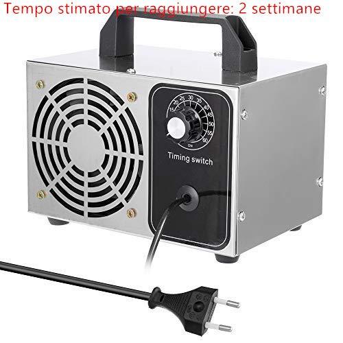 yorten Generatore di Ozono per casa o Commerciale 28G / certificato ce - generatori di ozono Lunga Vita con Timer sterilizzatore - Rimuovere la formaldeide 99.99%