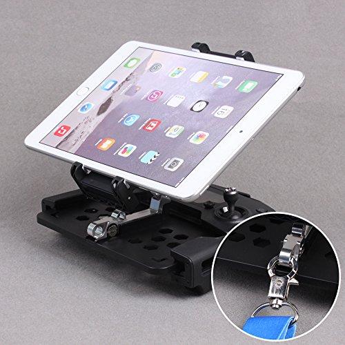 Flycoo Soporte de teléfono para tableta de 5,5 a 11 pulgadas para iPad Mini/ Air/ Pro para iPhone Soporte extendido para Mavic Pro / Spark Remote Controller