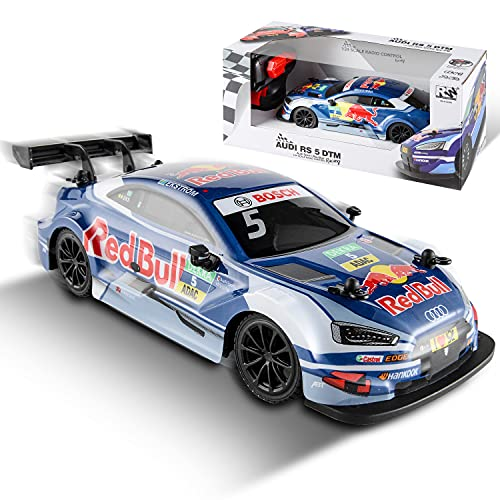 Remote Control Car - 2.4Ghz 1:24 Scale Blue RC Car DTM Electric Sport Racing Hobby Toy Car Model Vehicle for Adults, Girls and Boys 8-12 Gift , BEZGAR X JIAN FENG Yuan Licensed RC Series