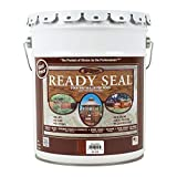 Ready Seal 530 Exterior Stain and Sealer for Wood, 5-Gallon, Mahogany