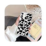 Custodia in silicone con stampa leopardata per iPhone 11 Pro Max X XR XS Max 7 8 6 6s Plus SE 2020 mucca grano morbido TPU Back Cover-1720-Per iPhone 7