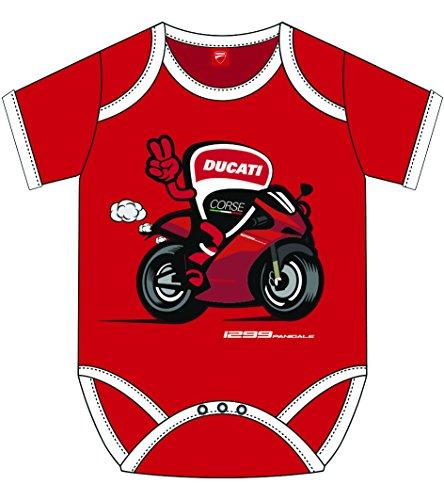 Pritelli 1886001/92Ducati Rennen Moto GP Racing Baby Body Offizielle 2018, rot