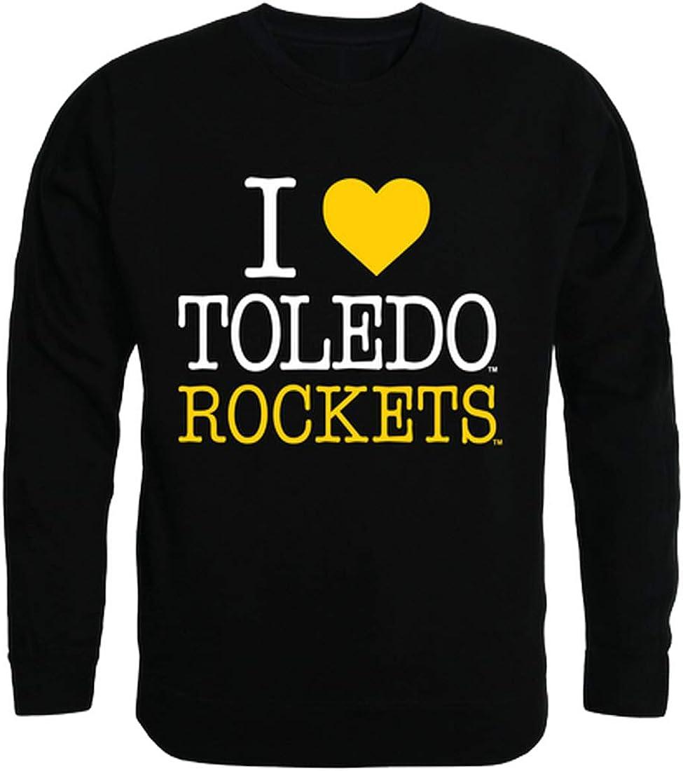 Toledo Rockets NCAA Ranking TOP6 College Indefinitely I Crewneck Sweatshirt Fleece Love