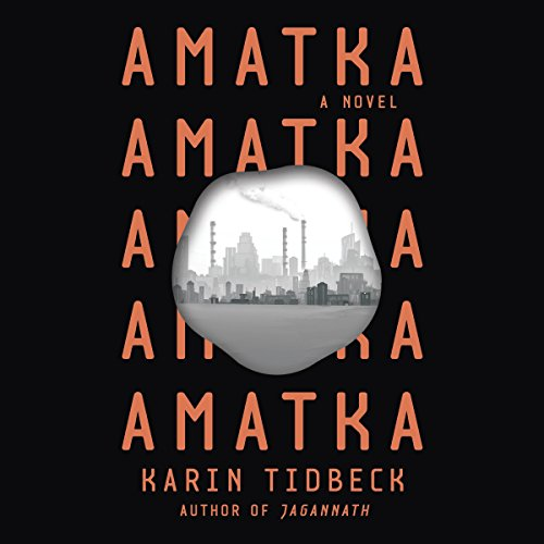 Amatka audiobook cover art