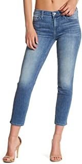 7 For All Mankind Roxanne Crop Squiggle Jeans - 30