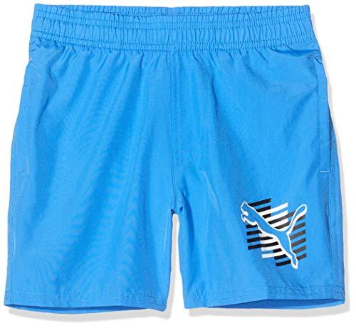 PUMA Jungen ESS+ Summer Cat B Shorts, Palace Blue, 116