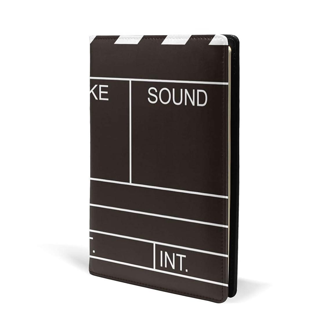 ボール印象的すべてブックカバー a5 白黒 映画 きれい 文庫 PUレザー ファイル オフィス用品 読書 文庫判 資料 日記 収納入れ 高級感 耐久性 雑貨 プレゼント 機能性 耐久性 軽量