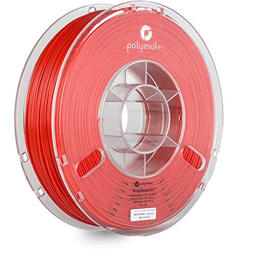 Polymaker 1612096 70506 Filament 1.75 mm 750 g Rouge PolySmooth