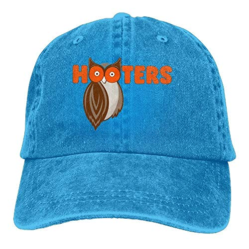 Save The Hooters Denim Baseball Caps Hat Adjustable Sport Strap Cap for Men Women