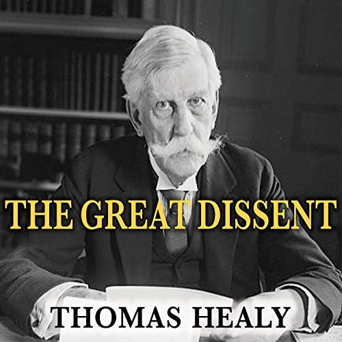 The Great Dissent audiobook cover art