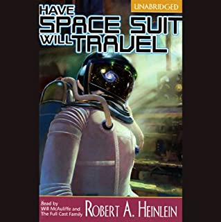 Have Space Suit, Will Travel audiobook cover art