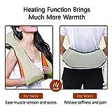 EMPORIUM Electric Heat Shiatsu Machine Body Massagers for Cervical Neck Shoulder & Back Pain Relief...