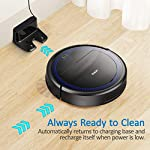 """Robit V7S PRO Robot Vacuum Cleaner, Upgraded 2000Pa Strong Suction, Ultra-Thin, Drop Sensor, Quiet, Self- Charging… 12 🐱 Enhanced 2000Pa Strong Suction: With the most advanced powerful motor, Robit V7S Pro Robot Vacuum has a 2000Pa intense suction, easily picking up dust and hair even from hard floor and carpet.3 Stage Cleaning System provided meets any various demands, you can choose whichever you like. 🐶 Slim Body & Super Quiet: Applying unique High quality Nidec brushless motor, this robot vacuum cleaner is endowed with mini noise while cleaning, so you can enjoy yourself with no disturbance. Only 3.1"""" height makes it easy to freely glide under the bed, the sofa or the table , and all the hidden dust can be swept away. 🐹 Schedule a Cleaning : Delivered by a Time Reservation, this robot vacuum pet can work perfectly as scheduled and multiple cleaning modes generates a customized cleaning routine."""