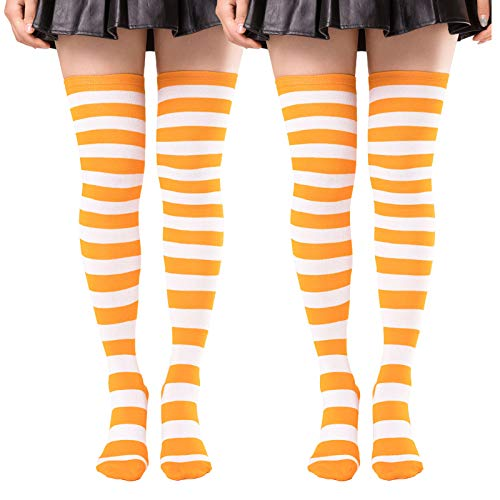 (59% OFF) 2 Pairs Thigh High Socks  $4.49 – Coupon Code