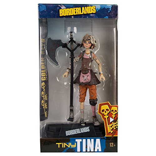 McFarlane Toys Borderlands Tiny Tina Collectible Action Figure