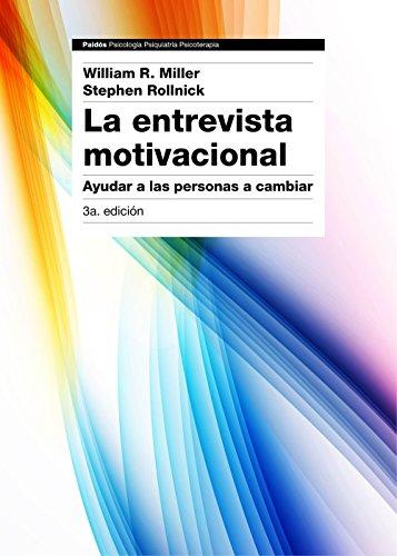 Portada del libro La entrevista motivacional de William R. Miller