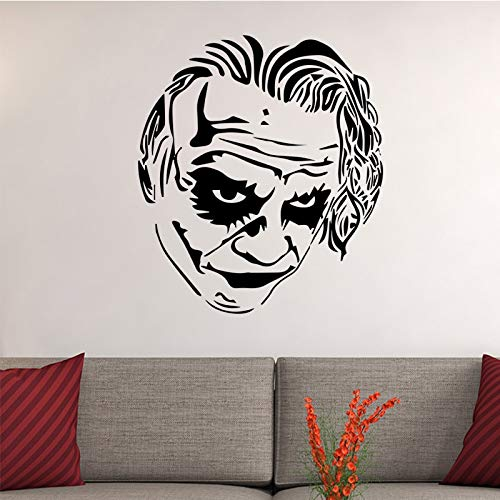 sanzangtang Kreative Bösewicht Wandaufkleber Junge Raumdekoration abnehmbare Selbstklebende wasserdichte Vinyl Wandtattoo,39x50cm