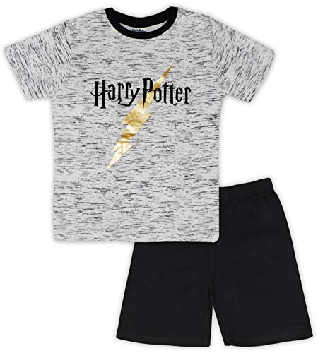 Harry Potter Pyjama en coton authentique pour enfants -  Multicolore - Medium