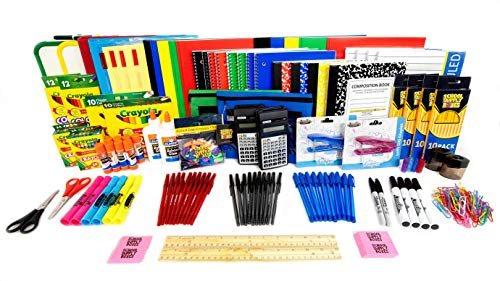 Mega Back to School Bundle - Perfect for Multiple Children Household - 154 Pieces