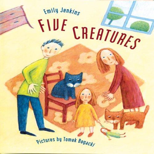 Five Creatures audiobook cover art