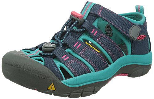 KEEN Newport H2 Sandalen Trekking- & Wanderschuhe, Blau (Midnight Navy/Baltic Midnight Navy/Baltic), 39 EU