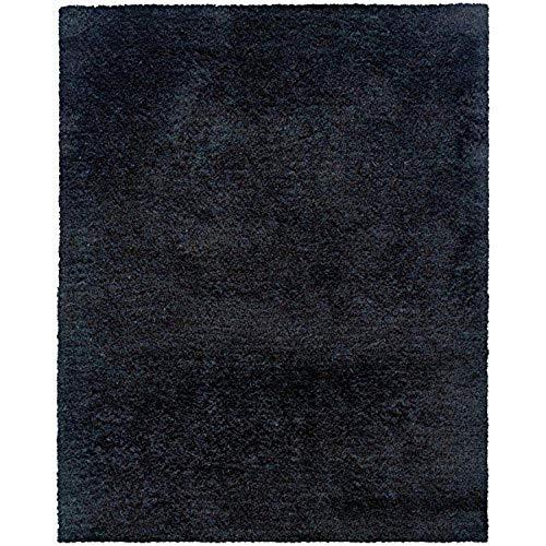Oriental Weavers 81102 Cosmo Shag Teppich, 91 x 71 cm, Schwarz
