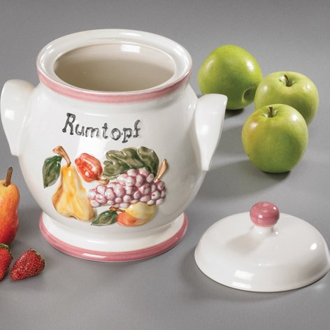 Rumtopf - Betty 4,5 Liter | Keramiktopf | Mehrzwecktopf